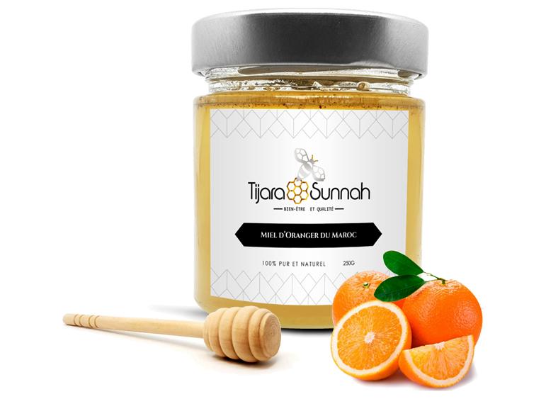 Produit miel d'Oranger du Maroc